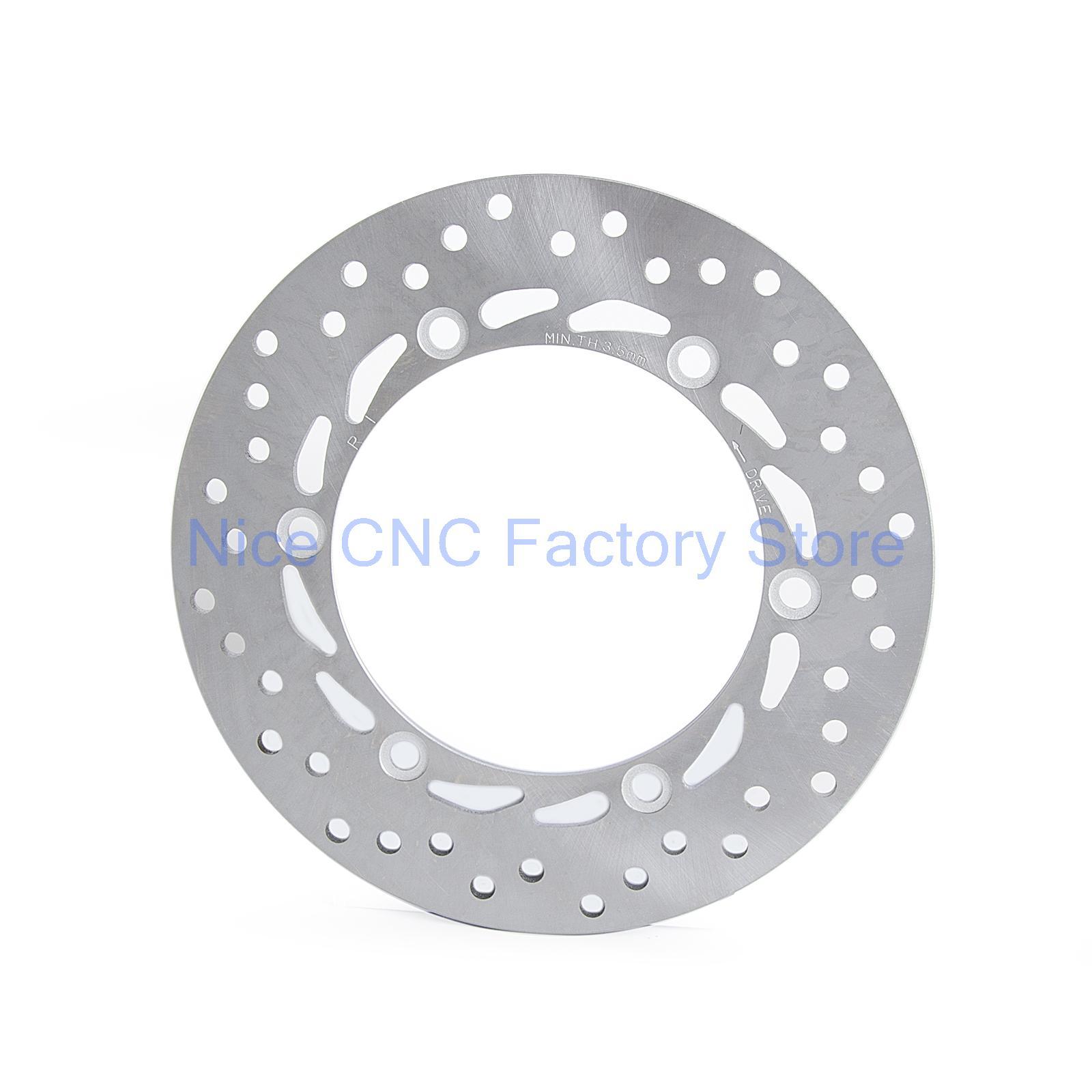 Переднего тормозного диска ротора сталь подходит для Honda CBR250 CBR750 CBR1000 CBR1100 NS250 NS400 FJS400 FJS600 VFR400 VFR750 VF500