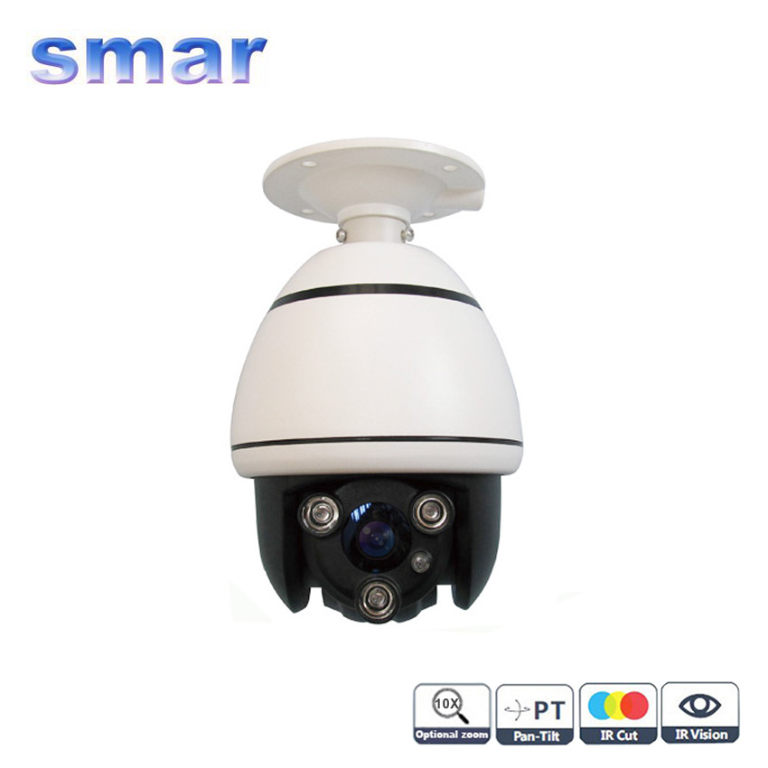 CCTV Security 700TV Line Array Infrared Sony CCD Effio-e 10X Optical Zoom Vandalproof Mini PTZ Speed Dome Camera cctv 480tvl sony ccd mini speed dome 10 x optical zoom ptz indoor surveillance camera free shipping