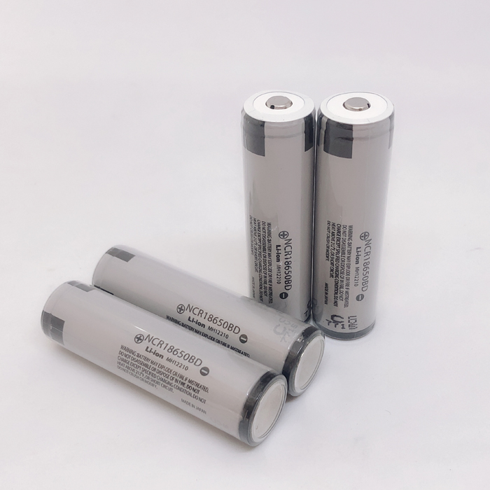 4pcs lot New Original Protected Panasonic 18650 NCR18650BD 3 7V 3200mAh 10A discharge Battery e cigarette batteries with PCB in Rechargeable Batteries from Consumer Electronics