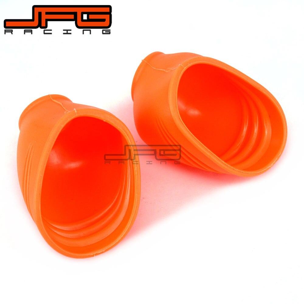 Protector de goma antipolvo para KTM EXC EXCF XC XCF XCW XCFW MX EGS SX SXF SXS SMR días 125-525 Manillar de agarre de Gel de freno de goma para motocicleta de 7/8