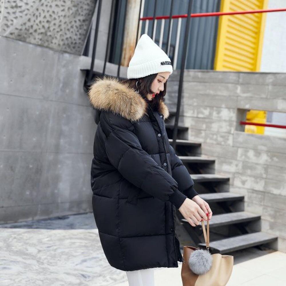 Faux Longue Femelle Hiver Ys45 2018 Veste Parka Survêtement Manteau Noir De Chaud Autruche D'hiver Col Libre Femme Femmes coffee Fourrure wARq1Rz