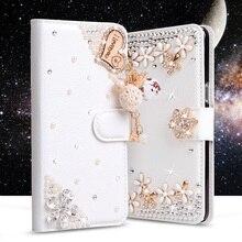 Со стразами Чехлы для LG Magna C90 H520N H502F H500F G4C G4 мини H525N бумажник PU кожаный чехол Filp Стенд Алмазный телефон сумка