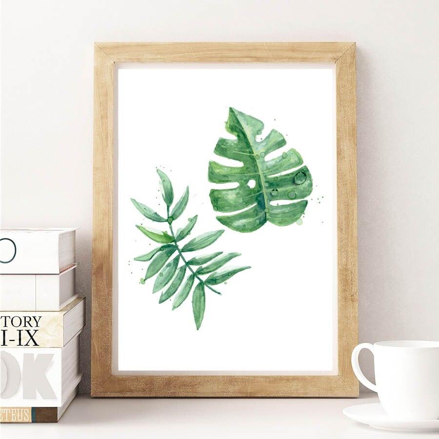 Nordic Green Plant тропикалық жапырақтары - Үйдің декоры - фото 4
