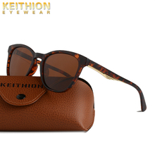 KEITHION New Square Polarized Women Sun Glasses UV400 Fashion Ladies Classic Brand Designer Driving Sunglasses