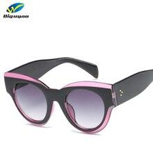 72271780392bf7 Rétro Cat Eye lunettes de Soleil Hommes Femmes Grand Cadre Vintage lunettes  de Soleil Cateye Femme Rue Snap Lunettes Femmes de L..
