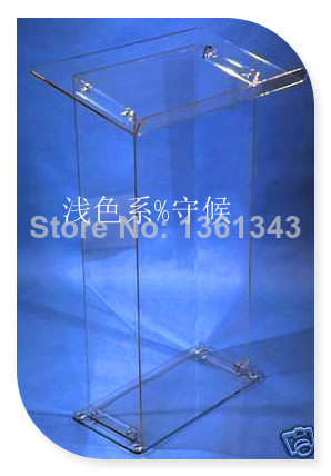 Hot SellingDetachable Clear Acrylic Lectern / Acrylic Podium Stand / Crystal Acrylic Pulpit