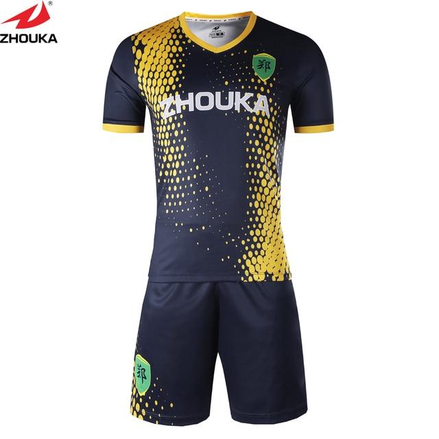 Completa uniforme de fútbol venta al por mayor de Mariscal de fútbol jersey  con sublimación personalizado f65b5528776e9