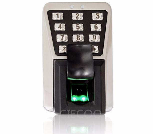 Waterproof dustproof fingerprint time attendance and access control with RFID card reader MA500 TCP IP door