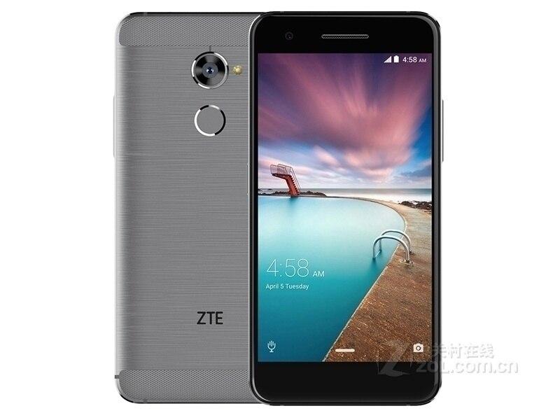 D'origine ZTE V870 4g LTE Smartphone snapdragon 435 Octa Core 4 gb + 64 gb 5.5 FHD16MP téléphone portable android7.0 NFC 3000 mah Mobile Téléphone