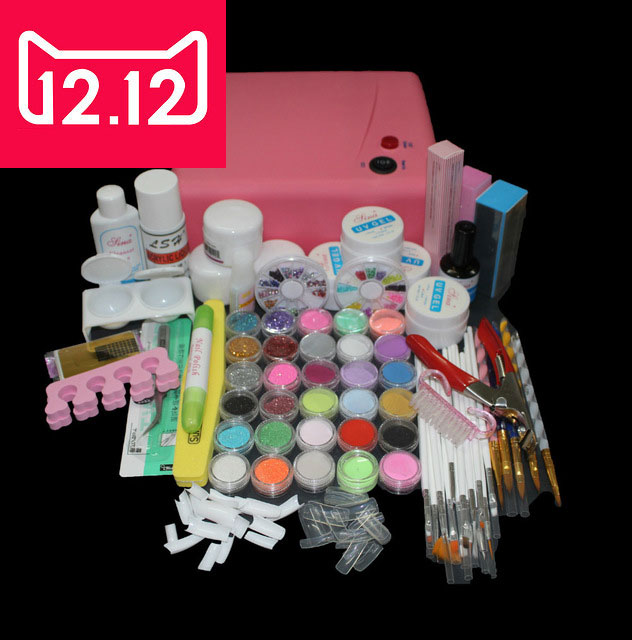 EM-116 Acrylic nails tools ,acrylic nail art tools kit ,kit nail manicure set,acrylic nail kit ,acrylic set nail ,acrylic powder mioblet 2g box mirror effect nail glitter powder shiny rose gold purple mirror chrome powder dust nails art pigment diy manicure