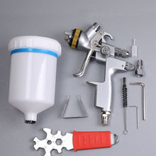 Jet Tool 1ZH4000B Paint Spray Tool Gravity 1.3mm 600ml Advanced Atomization Technology High Quality Tool Parts цены