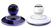MOXO S1 Magnetschwebebahn Lautsprecher Beweglicher Drahtloser Bluetooth Lautsprecher Holz Basis Schwimm Magnetschwebebahn Lautsprecher Mit Led-lampe NFC