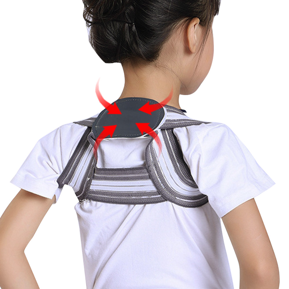 SOULAER Posture Corrector Belt Made of Breathable and Fully Elastic Fabric for Adults and Kids to Correct Body Shape Helps in Relieving Body Pain