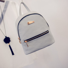 Fashion Women Mini Backpack PU Leather College Shoulder Satchel School Rucksack Ladies Girls Casual Travel Bag BS88
