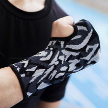 Kuangmi 1 Piece Adjustable Wrist Brace Fitted Right / Left Thumb Stabilizer Sports Support Wrap for Tennis Weightlifting