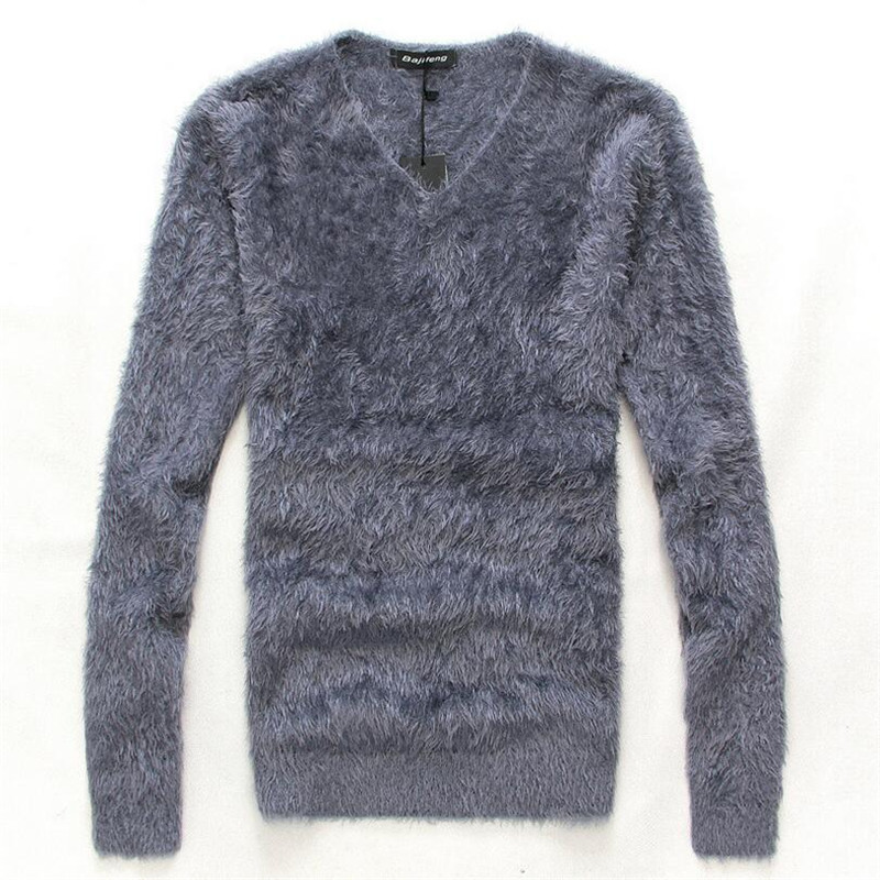Men/'s Knit Wear Jumpers Sweaters Slim Basis Tops Pullover V Neck Solid Color New