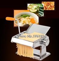 Household mini pasta machine manual pressing machine pole head mingled split Noodle Tools Free Shipping