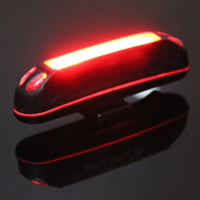 Head-Light Bicycle-Accessories Bike Rear-Tail-Lamp Rechargeable 100LM Led Usb