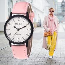 купить Relogio Feminino Women Watches 2018 Fashion Dress Leather Quartz Watch Women Casual Cute Wrist Watch Female Clock Reloj Mujer онлайн