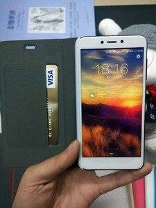 """Image 4 - Etui na Xiaomi Redmi 4X PU luksusowe biznes etui z klapką stojak na przypadku Xiaomi Redmi 4x Snapdragon 435 kartą trzymaj telefon pokrywa 5 """"ochraniacz"""