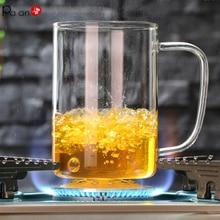 17oz Color Glass Mugs Handmade Coffee Tumbler Cup Tumblers Cups and Mug Chrysanthemum Tea