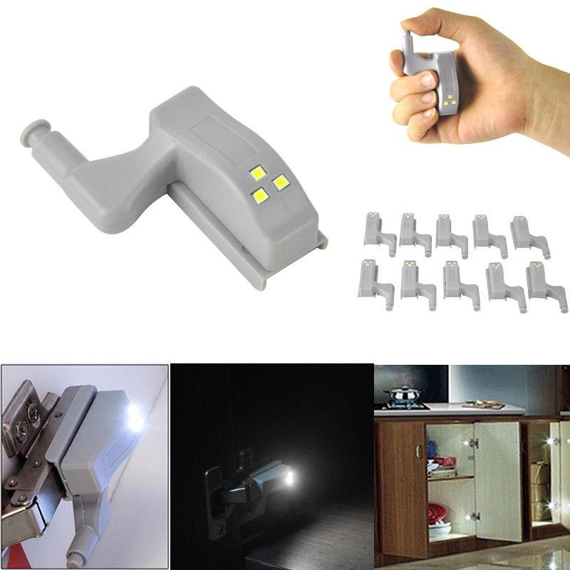 Universal LED Under Cabinet Light 0.25W Inner Sensor Light LED Hardwar Kitchen Bedroom Living Room Cupboard Wardrobe Night Light