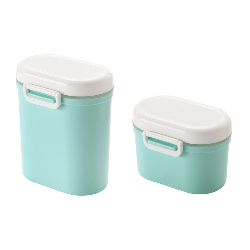 US $6 33 31% OFF|Baby Portable Milk Powder Supplement Box Kids BPA Free  Storage Container Infants Food Canned Toddler Seal Box Fruit Grid MY0029-in