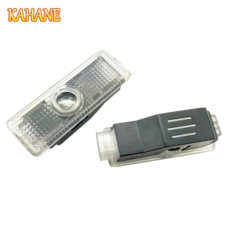 KAHANE 2x LED Car Door Courtesy Laser Projector Logo Ghost Shadow Light FOR BMW F30 F20 E60 E63 E90 E34 E46 X1 X3 X5 X6 M3 M5 M6