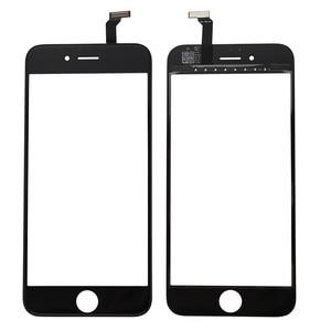 Image 4 - Nowy czarny biały ekran dotykowy szklany panel digitizera obiektyw dla iPhone 6 6s 6S Plus tanie wyświetlacz przednia część zamienna część naprawcza