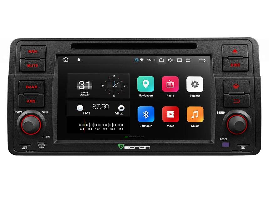 7 Android 8,0 Oreo OS DVD мультимедиа навигации gps радио для BMW 3 серии E46 1998 2006 С Разделение Экран режим Поддержка