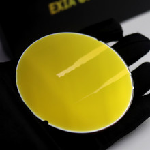 Gold Mirror Lenses Sunglasses Retro Style Light Colors 75mm Diameter Gradient EXIA OPTICAL A7 Series