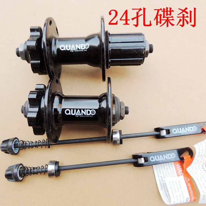 Livraison gratuite origine Quando hubs quantiques 24 trous disque de cassette hubs 8.9 moyeux de vélo de montagne