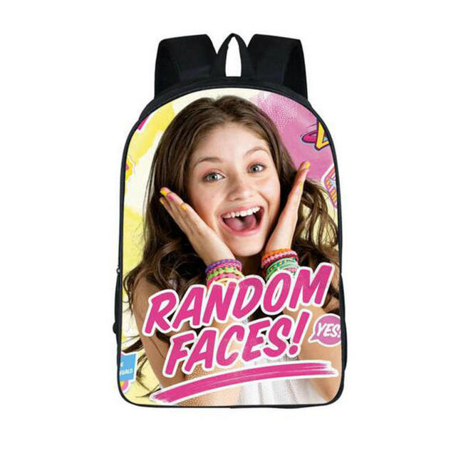 New Gifts Backpack For Teenagers Girls Soy Luna Children School Bags  Backpack Cartoon Kids Book Bag Young Women Backpacks c8a9b04698