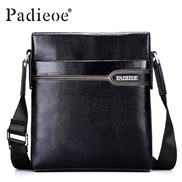 Paoe Brand Best Quality Men S Bag Leather Messenger Casual Shoulder Cross Body Bags Fashion