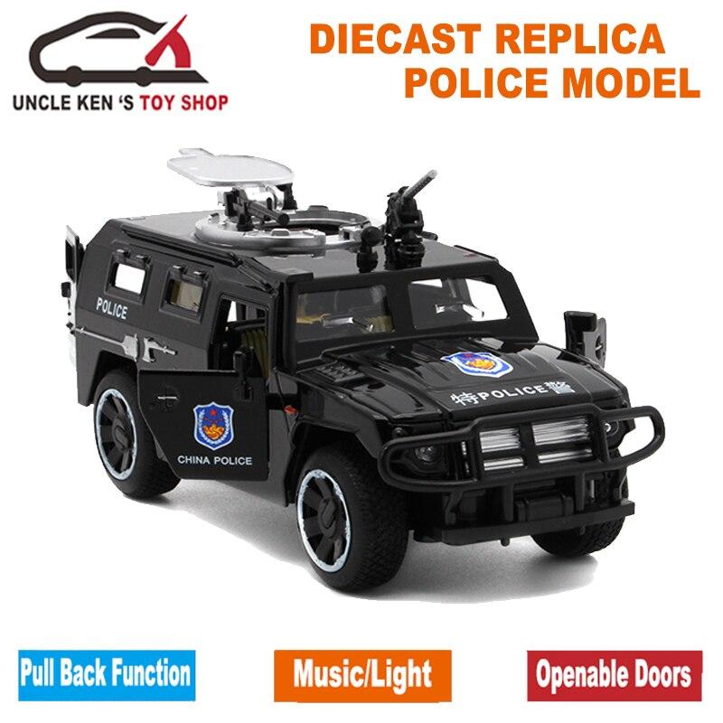 1/32 Scale Model Diecast GAZ Tiger, 15Cm metala replika automobila, - Dječja i igračka vozila - Foto 3