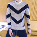 2016 Winter fashion Casual Men O-Neck Sweater male Brands Sweaters Men's decoration soft and comfortable slim fit knitting Warm