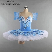 8197e88e87001 Blue Bird Classical Pancake Ballet Tutu Women/Girls Dance  Competition/Performance