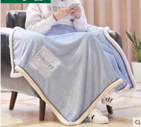 Children double thick blanket infant children baby blanket Carters baby blanket newborn bedding set 14 color