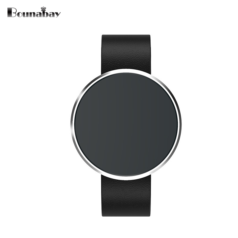 BOUNABAY Bluetooth Smart woman watch women watches apple android ios phone waterproof ladies Clock Touch Screen woman's Clocks bounabay multi lingual smart bluetooth bracelet watch for women touch watches android ios phone ladies waterproof lady clock