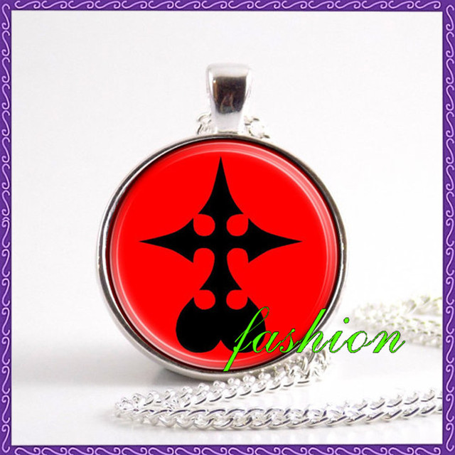 New Design Kingdom Hearts Nobody Emblem Symbol Necklace Jewelry