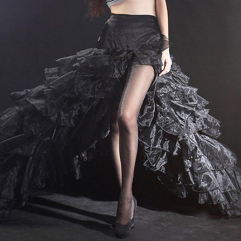 Women Pantyhose Female Stockings Sexy Black Shiny Tights Nylon Stockings Fashion Slimmin ...