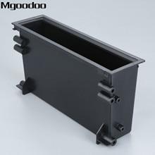 Mgoodoo 1Din Car Stereo Radio Refitiing Storage Pocket Box Spacer Mounting Trim Fascia Kit