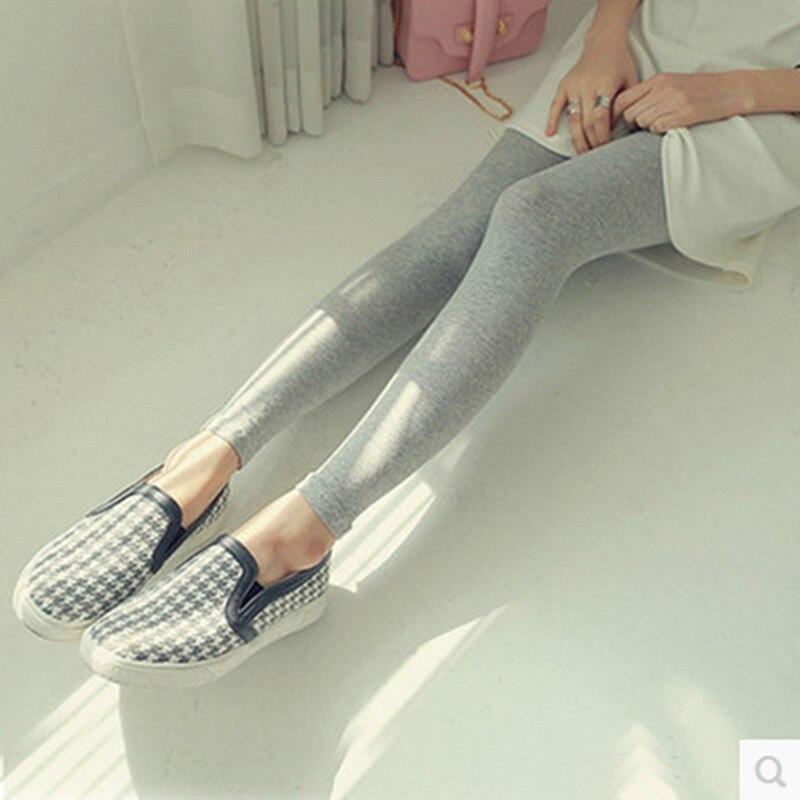 Spring new modal   leggings   women wear wild feet pants candy color slim pants