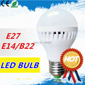 1pcs LED Bulb Lamp E27 E14 B22 2835 SMD 5W 7W 9W 10w 12w 15w 25w led bulb AC220V 110V Cold white warm white lighting led light