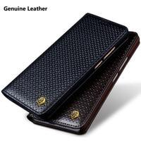 For Xiaomi Mi6 Mi 6 Case Business Flip Phone Bag Genuine Leather Case For Xiao Mi