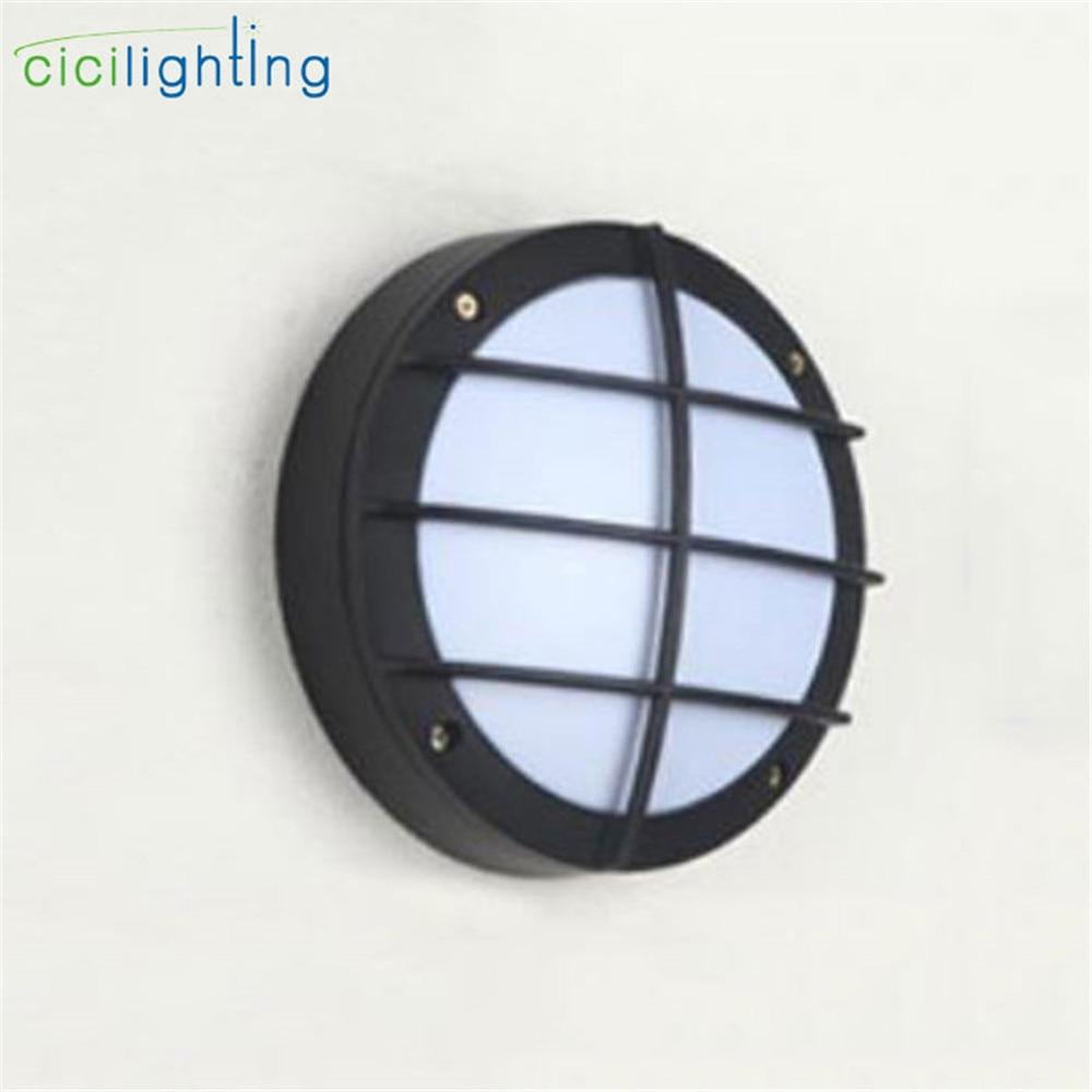Modern outdoor led wall light aluminum waterproof bathroom - Waterproof bathroom ceiling lights ...