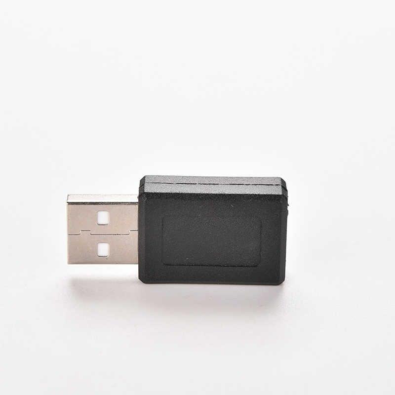 GETTO 1PC Società Nero USB 2.0 A Maschio a Micro USB B Femmina M/F Adattatore USB 5 spille Micro USB Spina del Convertitore del Connettore