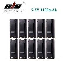 ELEOPTION 10 шт. 7.2 В ni-cd Батарея для ICOM bp-210n bp-210 bp-209 bp-222 ic-a6 ic-a24