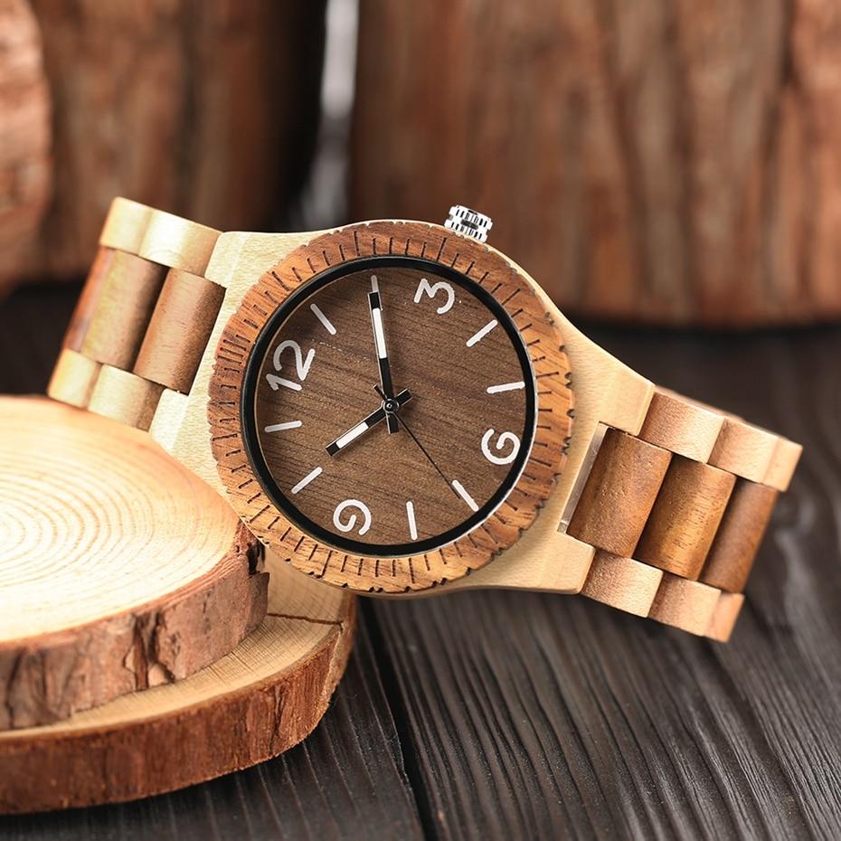 Minimalist Retro Full Wooden Watches Women Men Bamboo Wood Bracelet Fashion Creative Quartz Wristwatch Handmade Gifts Clock Hour 2018 (22)