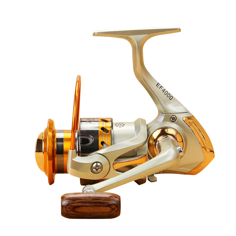2018 Gapless Spinning Fishing Reel 13BB JF1000-7000 5.5: 1 Metal Carp - Memancing - Foto 2